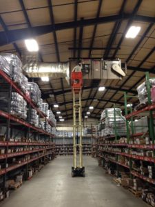 lift for air handler Commercial Inspections